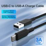 USB-C to USB-A Charge  Cable