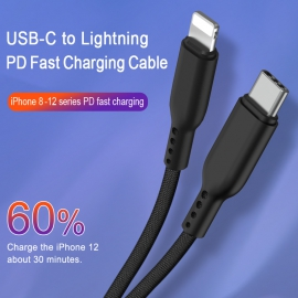 USB-C to Lightning  PD Fast charging Cable