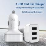 3 USB Smart Port Car Charger