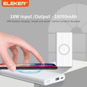 PD+QC3.0  Wireless Power Bank
