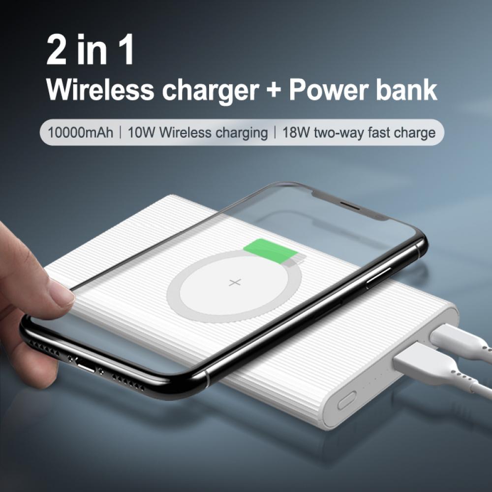Wireless Power Bank-10000mAh